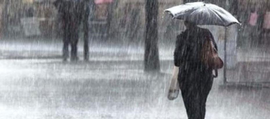 Önümüzdeki 24 saatlik sürede, sağanak veya gökgürültülü sağanak yağışlı