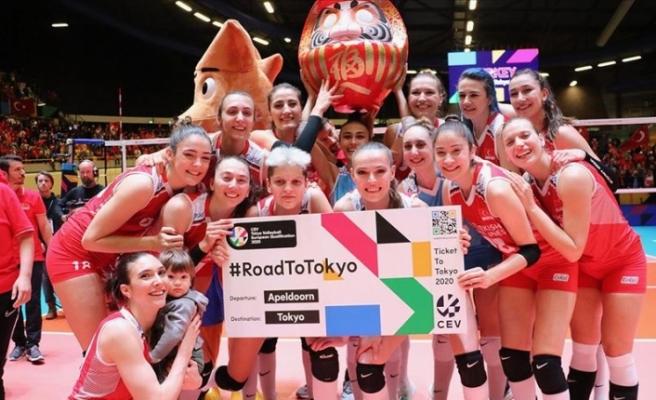 Türkiye A Milli Kadın Voleybol Takımı olimpiyatlara katılmaya hak kazandı