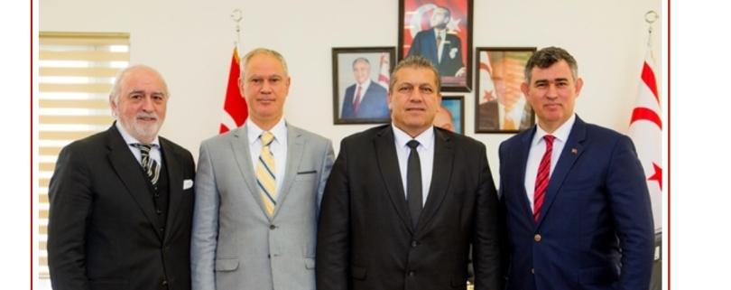 Türkiye Barolar Birliği Başkanı Feyzioğlu, Hasipoğlu ve Arter'i ziyaret etti