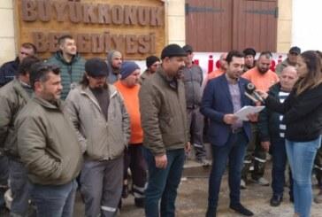 Büyükkonuk Belediyesi'nde uyarı grevi