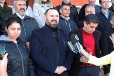 Mahkeme önünde basın açıklaması yapıldı