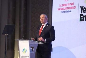 Taçoy, Türkiye Enerji ve Doğal Kaynaklar Zirvesi'nde konuştu