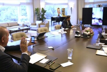 TC Cumhurbaşkanı Erdoğan karantina'da doğum yapan Gül'ü tebrik etti