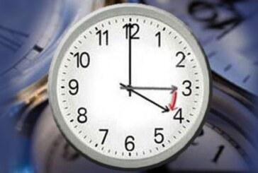 Saatler ileri alınacak