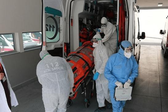 Türkiye'de can kaybı 4 bin 515 oldu