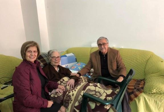 Akıncı, Zehra Kebapçıoğlu'nun ölümü üzerine mesaj yayımladı