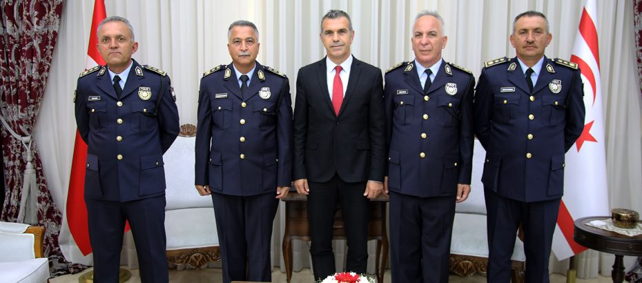 Meclis Başkanı Uluçay, Manavoğlu ve Soyalan'ı kabul etti