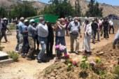 İsmail Kemal için Lefke Kabristanlığı'nda cenaze töreni düzenlendi