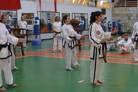 Taekwondocularda durmak yok