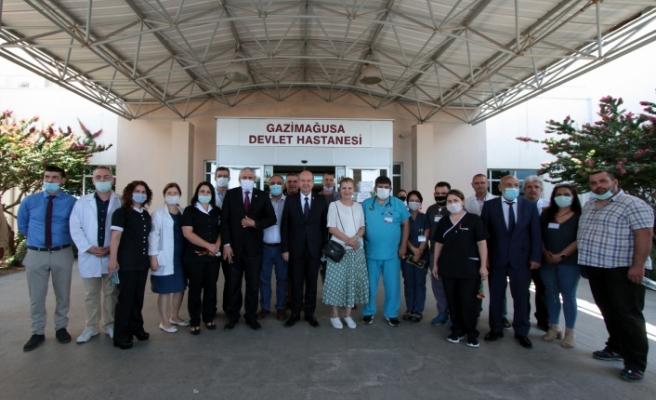 Tatar: Ülkeye gelecek yolcu sayısı sağlık altyapısına göre ayarlanacak