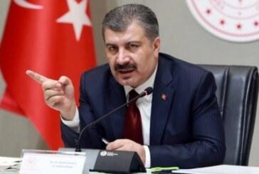 Türkiye'de vaka sayısı arttı