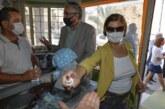 Akıncı, Mağusa çarşısını ziyaret ederek esnaf ve yurttaşlarla bir araya geldi