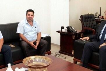 Başbakan Tatar Alioğlu ve Şanlıdağ'ı kabul etti