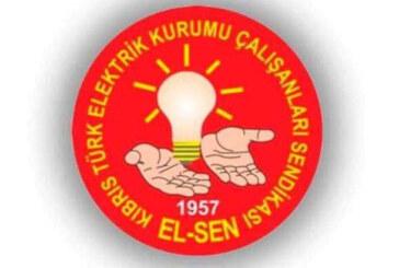 Kıbrıs Türk Elektrik Kurumu Çalışanları Sendikası'nın Olağan Genel Kurulu bugün