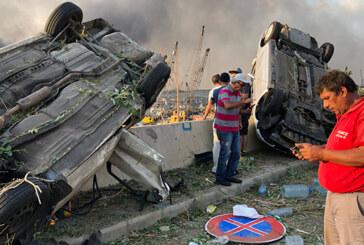 Atom bombasını andıran patlama sonrası Beyrut