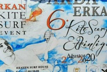 Arda Erkan 6.Uluslararası Kite Surf Etkinliği Yedidalga'da yapılıyor