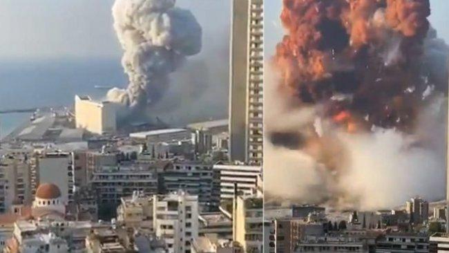 Lübnanlılar, patlamanın ardından yaralarını sarmaya çalışıyor