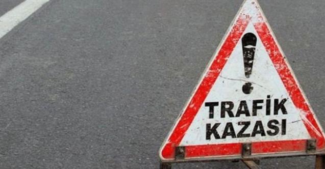 Trafik kazasında biri 3 yaşında çocuk, 3 kişi yaralandı