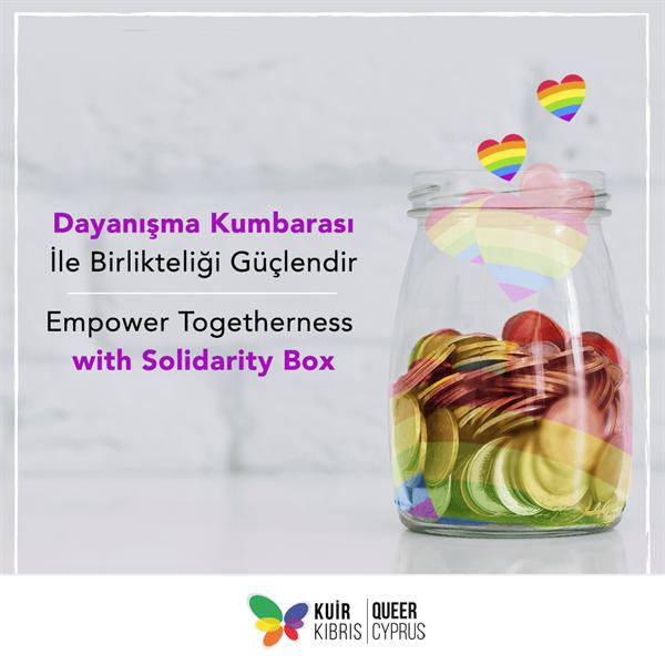 Kuir Kıbrıs Derneği, destek hattını güçlendirmek için kampanya başlattı