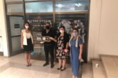 Dövme Piercing sahibi Karapaşa'dan Kanser Hastalarına Yardım Derneği'ne bağış