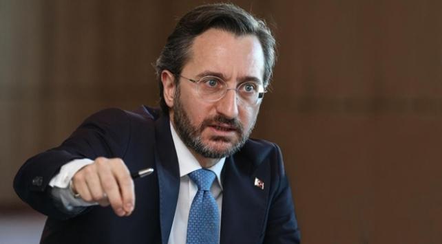TC İletişim Başkanı Altun: Türkiye her zaman diplomasiden yana oldu