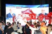 Tatar, partililere ve vatandaşlara hitap etmek için Sarayönüne geldi