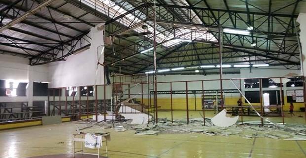 Başaran spor salonu yenileniyor