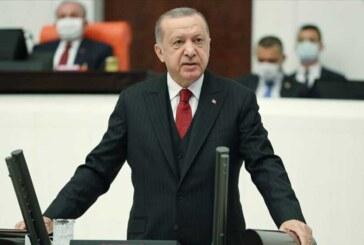 Erdoğan: KKTC'de sandıkta ortaya konan tercihi, Türkiye ile ortak bir gelecek kurma kararlılığı olarak görüyoruz