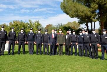Narkotik polisler Cumhurbaşkanlığı'nda ödüllendirildi