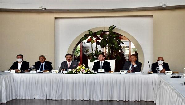 KTTO, Türkiye–AB Karma İstişare Komitesi Türkiye Kanadı üyeleri onuruna yemek düzenledi