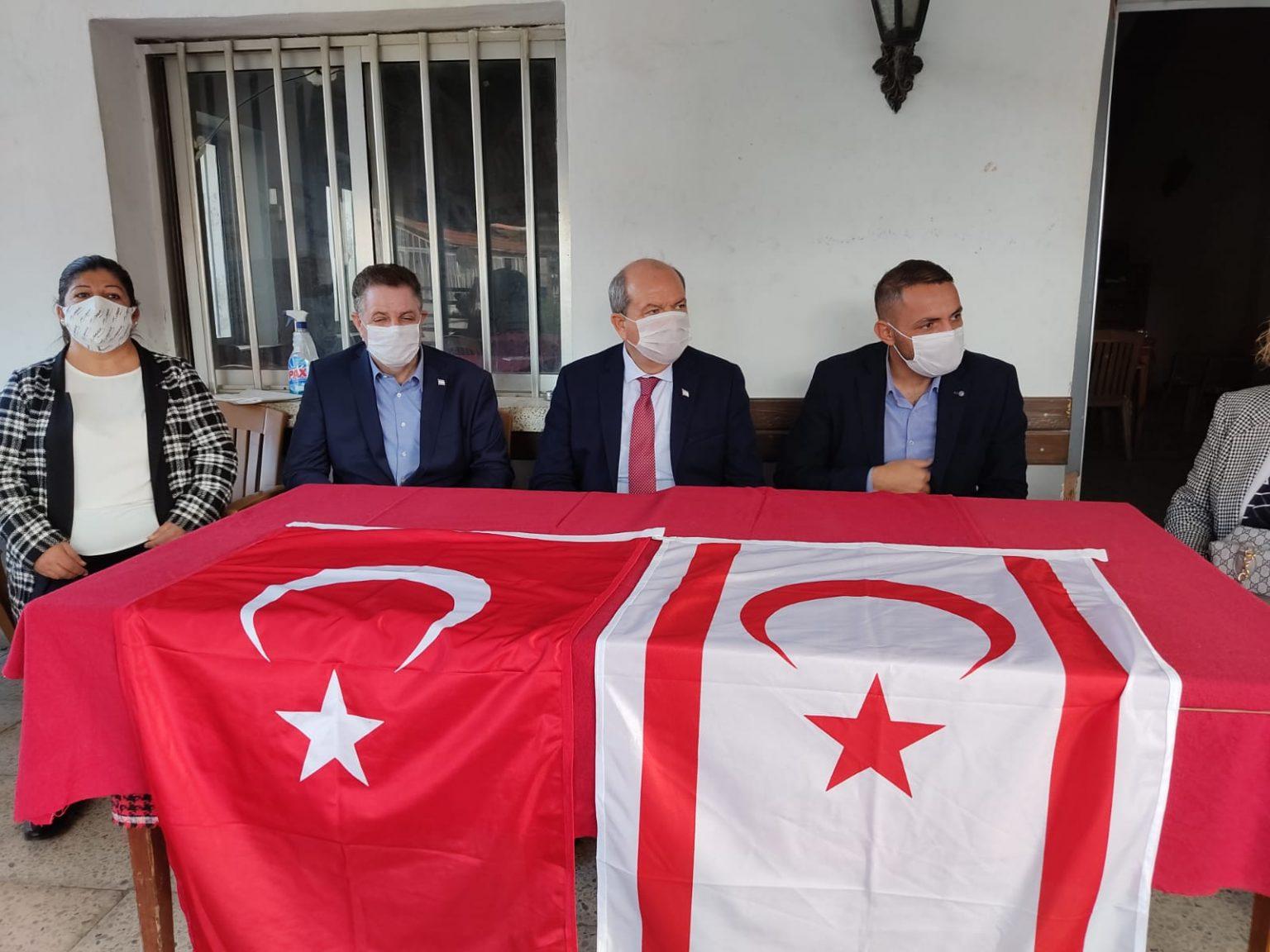 Cumhurbaşkanı Tatar:Hükümet tüm imkanları ile bölge halkının yaralarını saracak