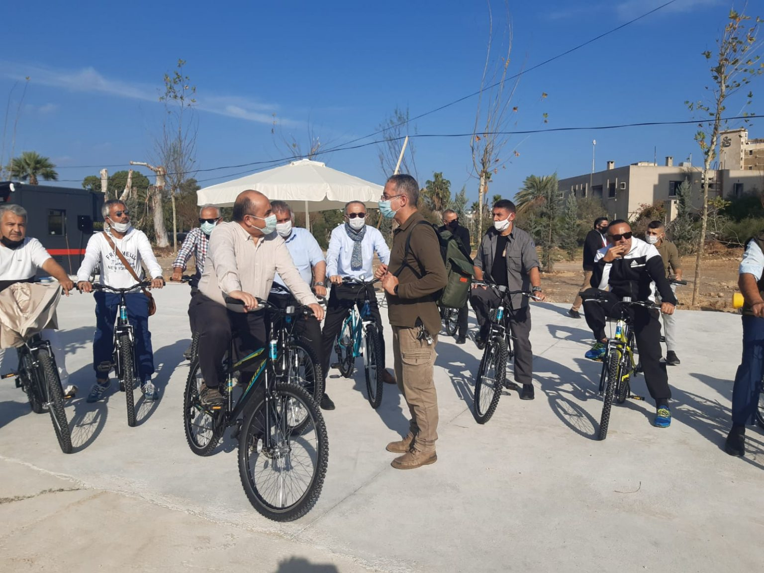 Büyükelçi Başçeri, Maraş'ı ziyaret ederek, halkla birlikte bisiklet turuna katıldı