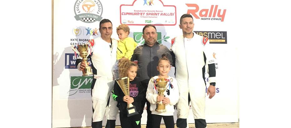 2020 Kuzey Kıbrıs Sprint Ralli Şampiyonası Cumartesi günü tamamlandı