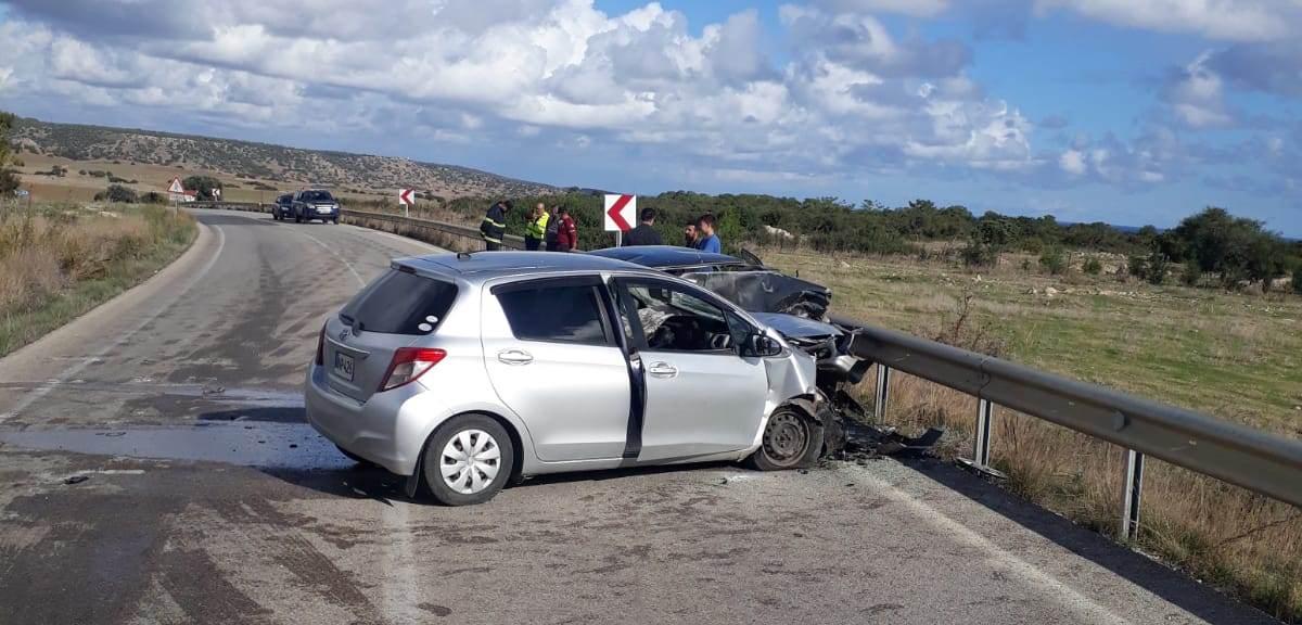 Kumyalı'da feci kaza; 1 kişi hayatını kaybetti