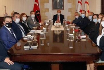 """Tatar, """"İki Taraflı Teknik Komite"""" eş başkanlarıyla toplantı gerçekleştirdi"""