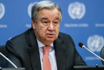 """Guterres'ten Güney Kıbrıs'a """"bu son şans"""" mesajı"""