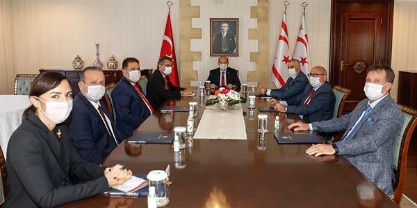 Tatar Meclis'te temsil edilen parti başkanlarıyla görüşecek