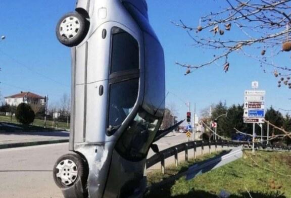 Akılalmaz kaza!