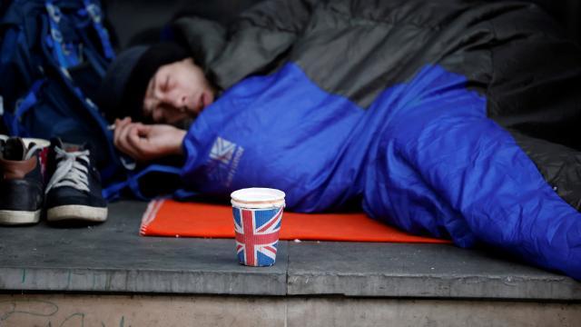 Birleşik Krallık'ta geçen yıl 976 evsiz öldü