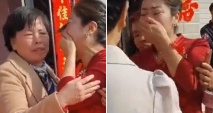 Çin'de mucizevi olay: Damadın annesi, gelinin kendi kızı olduğunu fark etti