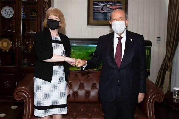 Tatar: Kıbrıslı Türklere uygulanan izolasyonlara artık esneklik gösterilmeli