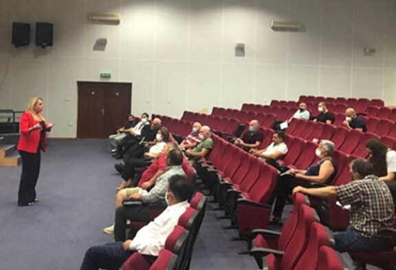 İstatistik Kurumu, Güzelyurt-Lefke bölge muhtarlarıyla toplantı yaptı