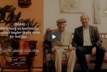 Cumhurbaşkanı Tatar, Babalar Günü dolayısıyla video mesaj yayınladı