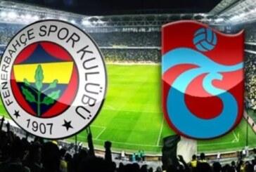 Fenerbahçe Trabzonspor karşısında
