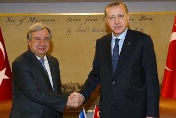 Erdoğan Guterres'i aradı