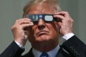 Fotoğraflarla ABD'de izlenen tam güneş tutulması