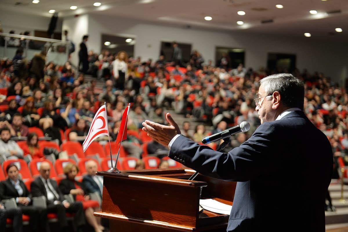 """Akıncı İstanbul'da konuştu: """"Paylaşmak istemediler"""""""