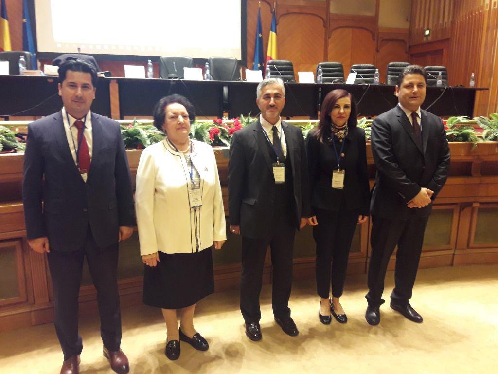 Ombudsman Dizdarlı Bükreş ve İstanbul'da konferanslara katıldı