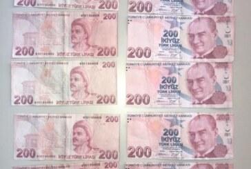 Sahte 200'lük banknotlara dikkat