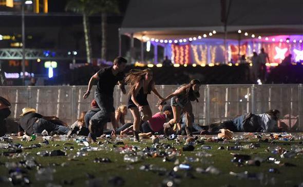 Las Vegas'taki saldırıda 2 ölü, 24 yaralı